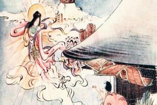 Legenda japoneză a fetei din lună